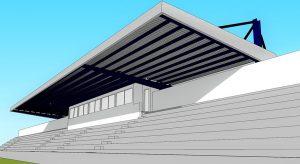 Image of Cobertura da Bancada do Estádio Municipal de Angra do Heroísmo