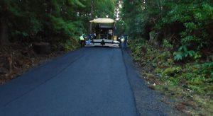 Image of Empreitada de pavimentação em betão betuminoso numa extensão de 1570 metros